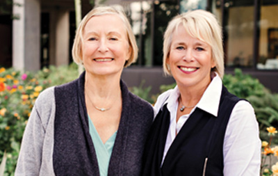 Photo of Cathy Deller and Judy Baker