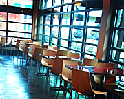 Park's Cafe Seating Half Size
