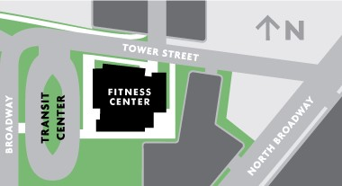 fitness center map