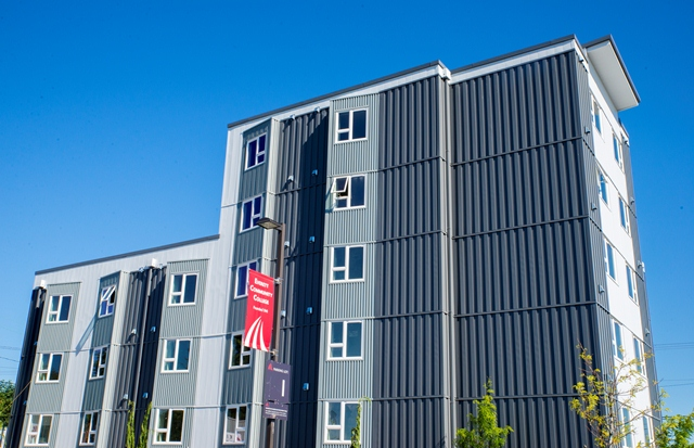Exterior of Residence Hall