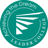 achieving the dream leader college logo