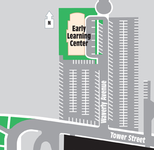 Early Learning Center Map