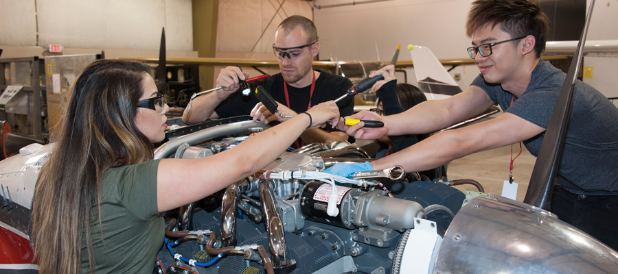 Aviation Maintenance Technician School Everett Community