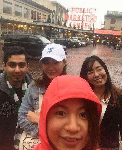 EvCC students enjoy shopping at Pike Place Market in downtown Seattle.