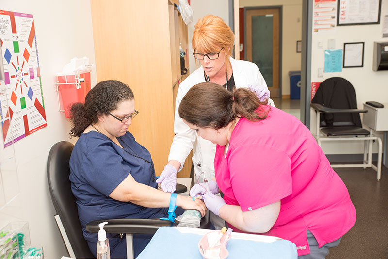 Phlebotomy Technician Training Program Everett Community College