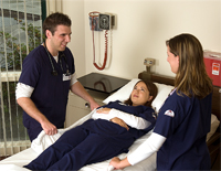 Students Practicing